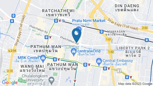 Amari Watergate Bangkok Map