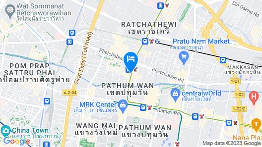 Asia Hotel Bangkok Map