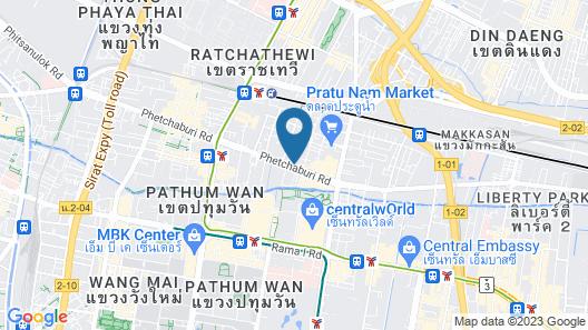 Leela Orchid Hotel Map