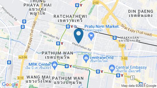 Centre Point Pratunam Map