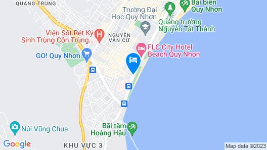ANYA Premier Hotel Quy Nhon Map
