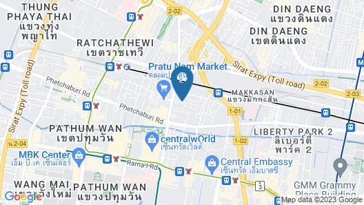 PJ Watergate Hotel Map
