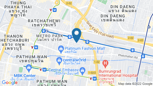 Baiyoke Suite Hotel Map