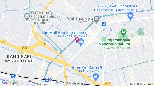 Thomson Hotel Huamark Map