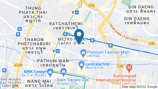 The House Pratunam Map