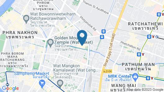 Prince Palace Hotel Map