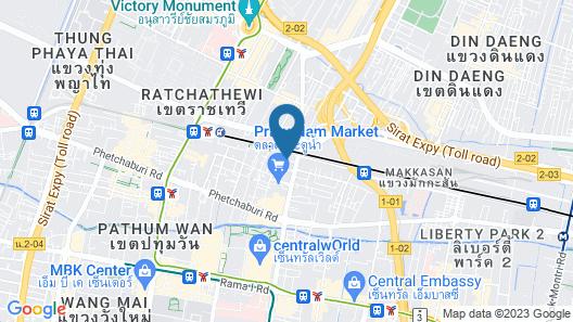 KC Place Hotel Pratunam Map