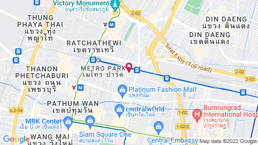 Baiyoke Boutique Map