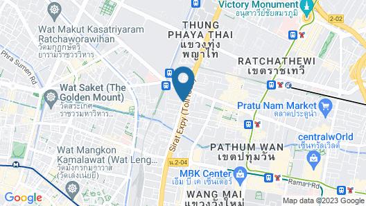 Bangkok Midtown Hotel Map