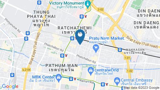 Spittze Hotel Pratunam Map
