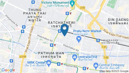 DT Hotel (Dream Town) - Pratunam Map