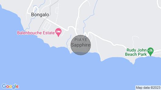 Jean's Condo, Sapphire Estate , Laborie, St.lucia. Comfort In Style Map