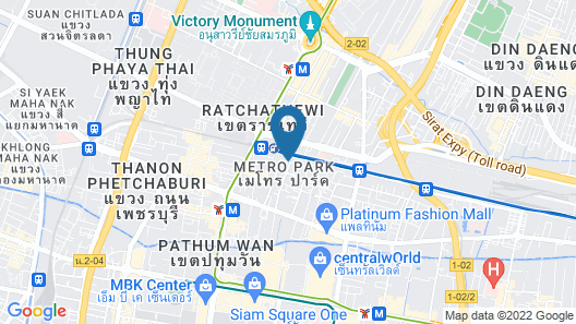 Top High Airport Link Hotel Map
