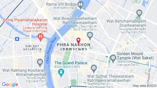 D&D Inn Khaosan Map