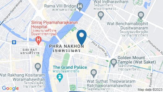 The Mixx Hostel Map