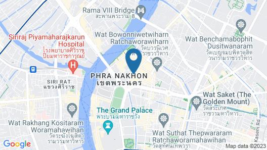 AlphaBed Hostel Bangkok Map