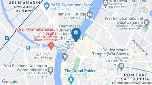 Riva Surya Bangkok Map
