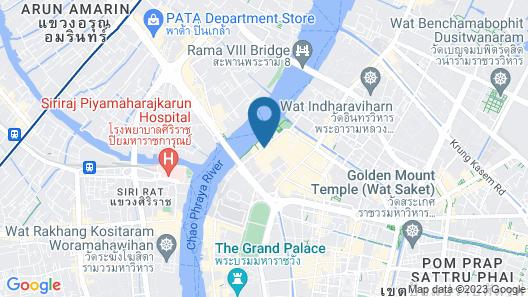 Khaosan Art Hotel Map