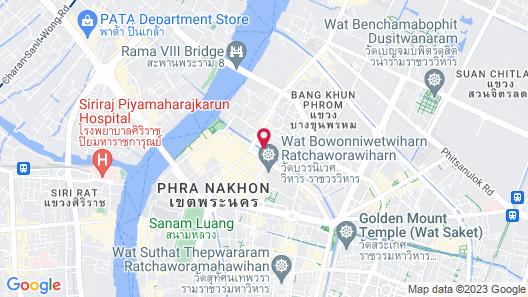 Nouvo City Hotel Map