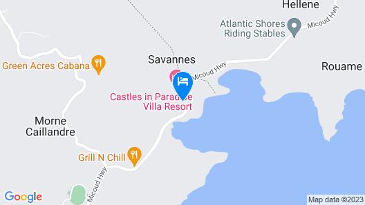 Savannes Bay Garden Inn Map