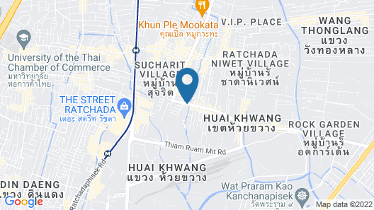 Chapter One ECO Ratchada Huaikwang by Favstay Map