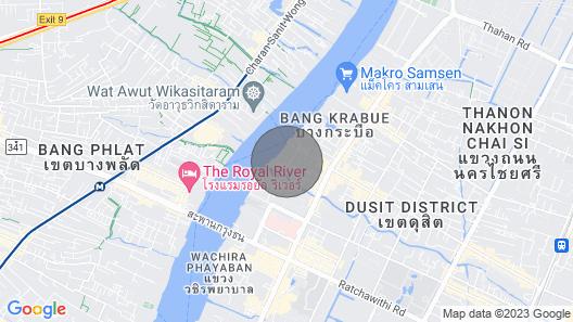 Royal Riverside Villa - Bangkok Map