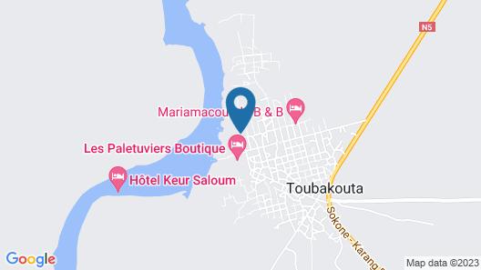 Keur Saloum Map