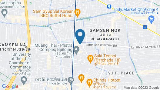 The Corner Ratchada Map