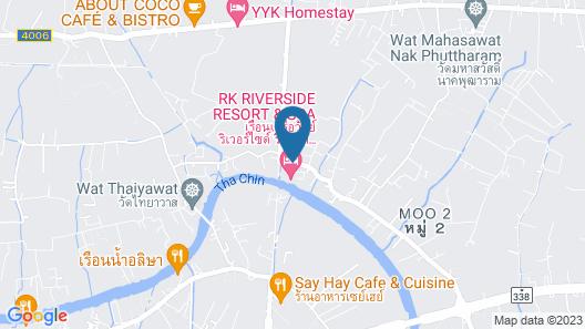 RK Riverside Resort & Spa Map