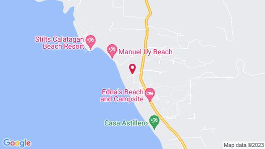 Crusoe Cabins Casobe Map