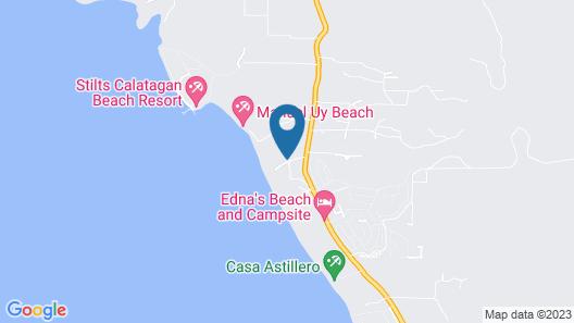 Crusoe Cabins Map