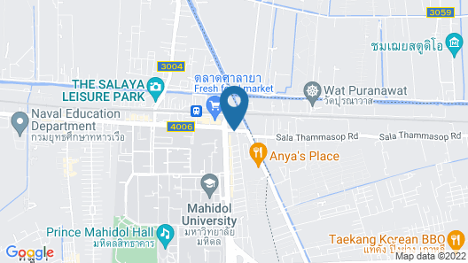 The Palm Hotel Map