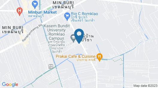 KOS Hotel Suvarnabhumi Airport Map