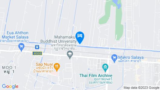 Baan ing tara Salaya Map