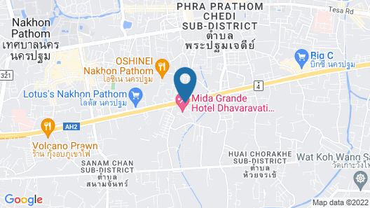 Mida Grande Hotel Dhavaravati, Nakhon Pathom Map