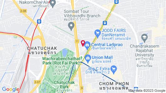 Centara Grand at Central Plaza Ladprao Bangkok Map