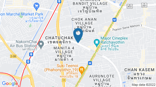 Northgate Ratchayothin Map