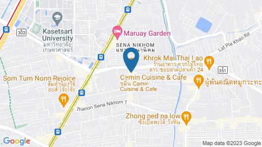 Livotel Hotel Kaset Nawamin Bangkok Map