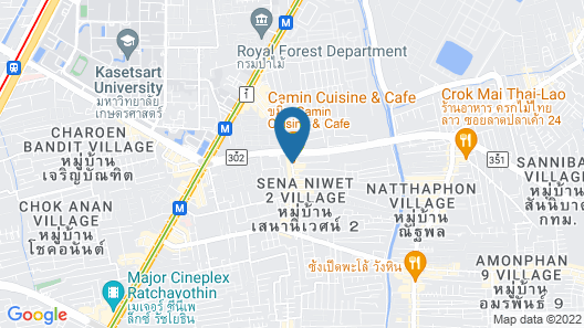 Premsiri Boutique Park Map