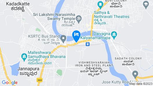 OYO 24245 Dv Residency Map