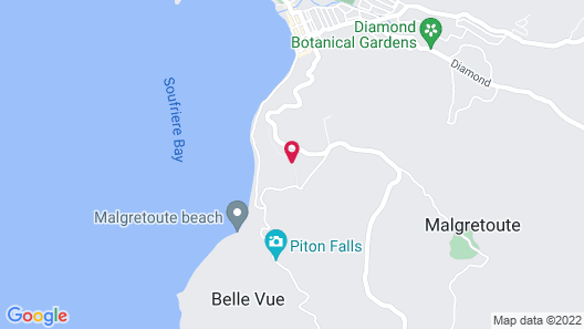 Stonefield Villa Resort - Adults Only Map