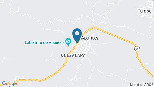 Las Cabañas de Apaneca  Map