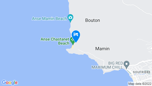 Anse Chastanet Resort Map