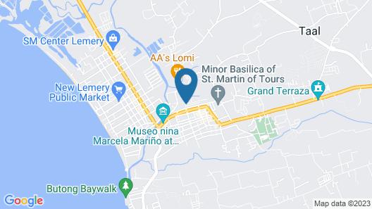 Paradores Del Castillo Map