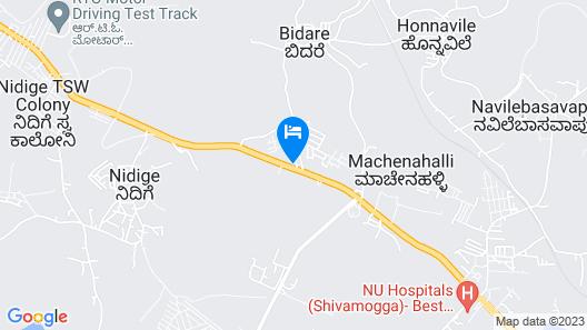 Capital O 35621 Hotel Durga International Map