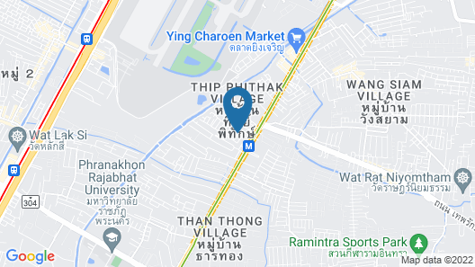 OYO 941 Chom's House at Sapanmai Map
