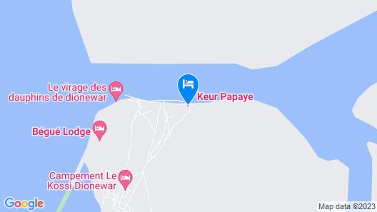 Keur Papaye Map