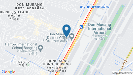The Iconic Don Mueang By Andacura Map