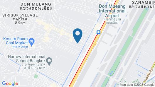 Montri Resort Donmuang Bangkok Map