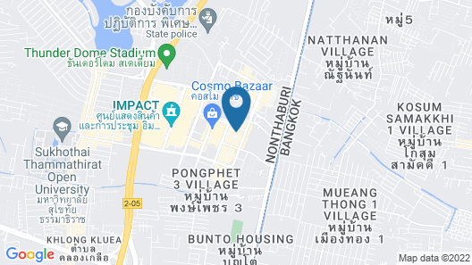 T9 Muang Thong Thani Condo Map